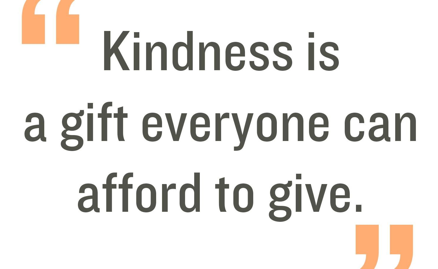 Random Acts of Kindness Week 18 – 22 Feb
